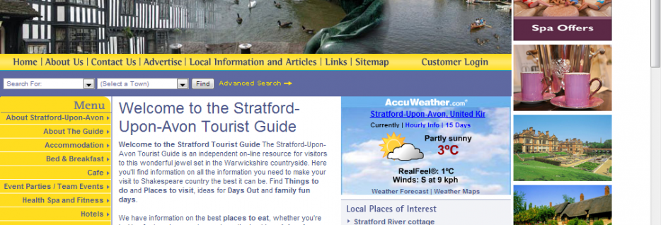 Stratford-Upon-Avon Tourist Guide