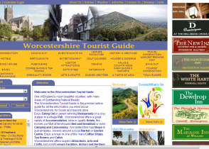Worcestershire Tourist Guide